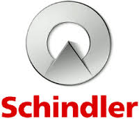 A logo of Schindler, an Armour Equipment client.