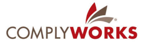 A logo for Complyworks.