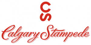 A logo of the Calgary Stampede, an Armour Equipment client.